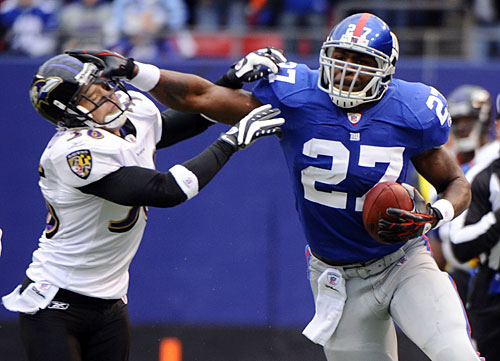 New York Giants Cut Brandon Jacobs; Possible Replacements ...