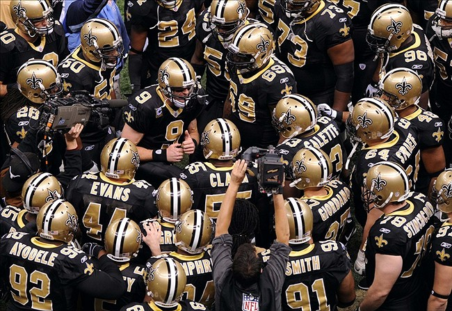 Drew Brees Has A New Pre Game Chant That Is No Lie For The