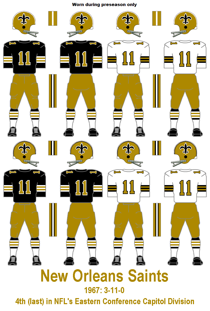 low priced d8f0f 731d0 New Orleans Saints going back to the 1960's against Houston ...