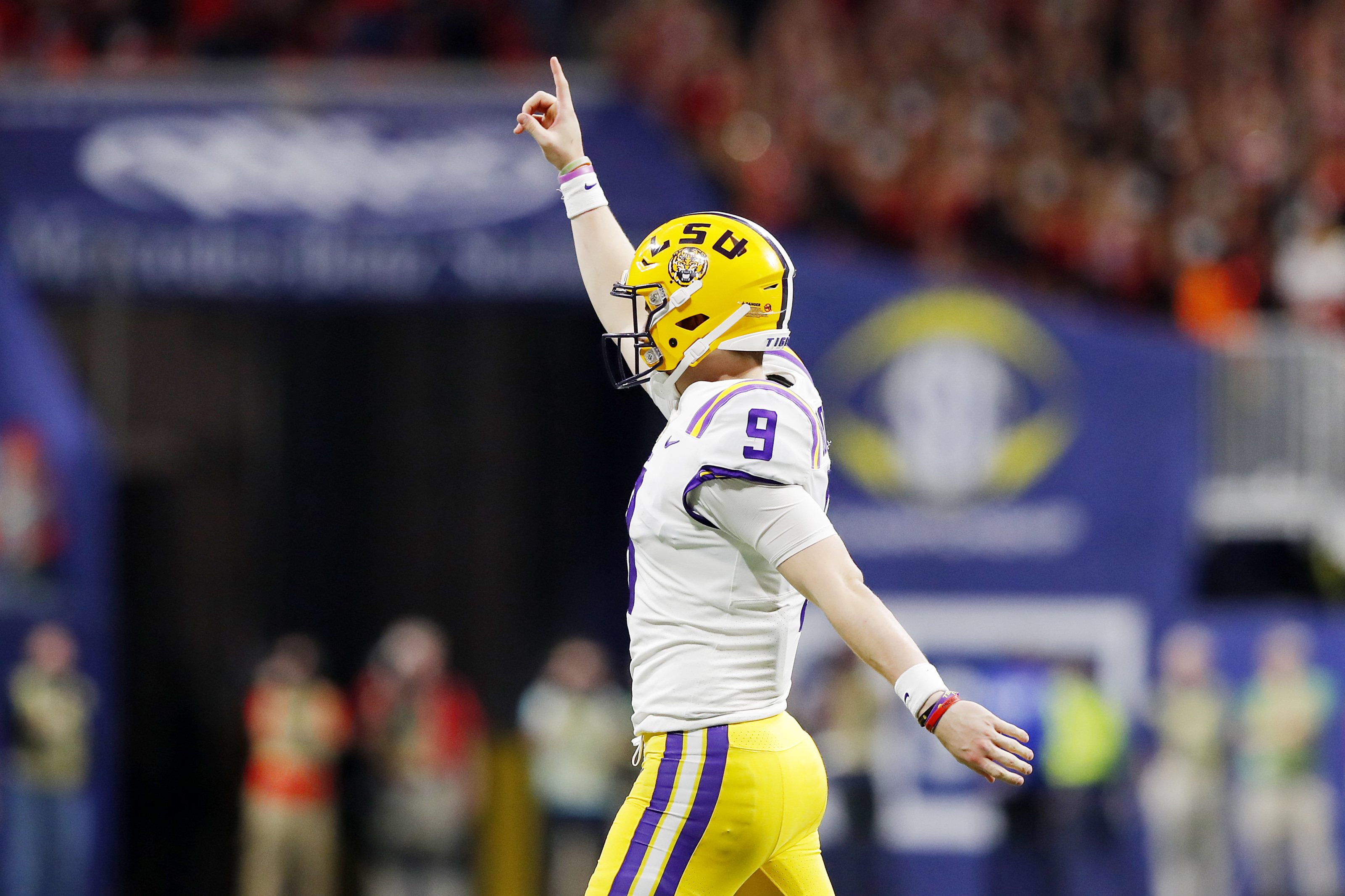 3 Ways The New Orleans Saints Can Trade Up For Lsu Superstar Joe Burrow He never shed his backup role there, though, and transferred to lsu less than two years ago, arriving as a burrow ignored the admonition, and that cigar waited to be gripped in the hand that mesmerized college football all. https whodatdish com 2019 12 27 new orleans saints deals trade joe burrow