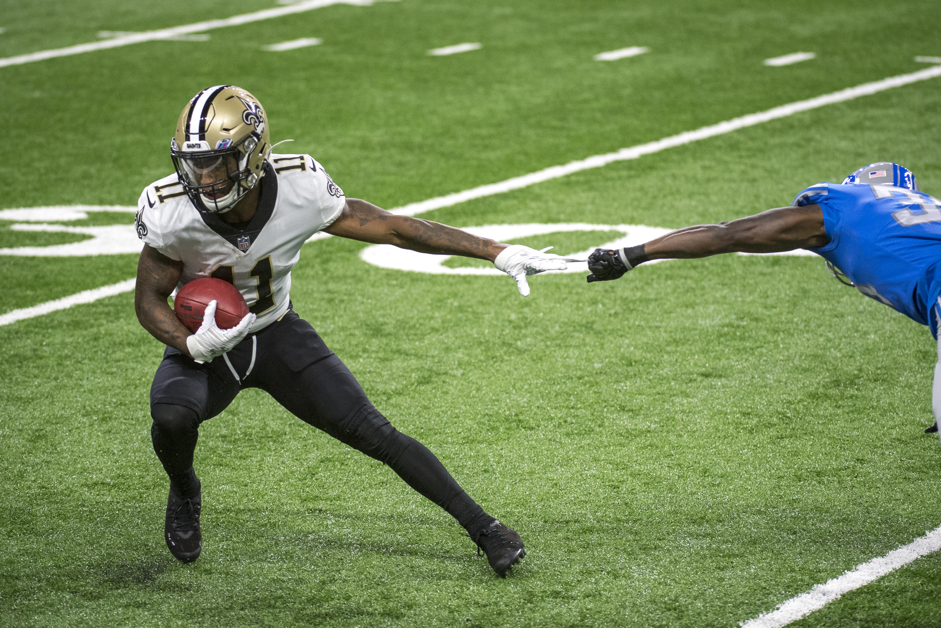 New Orleans Saints can risk not drafting a wide receiver early