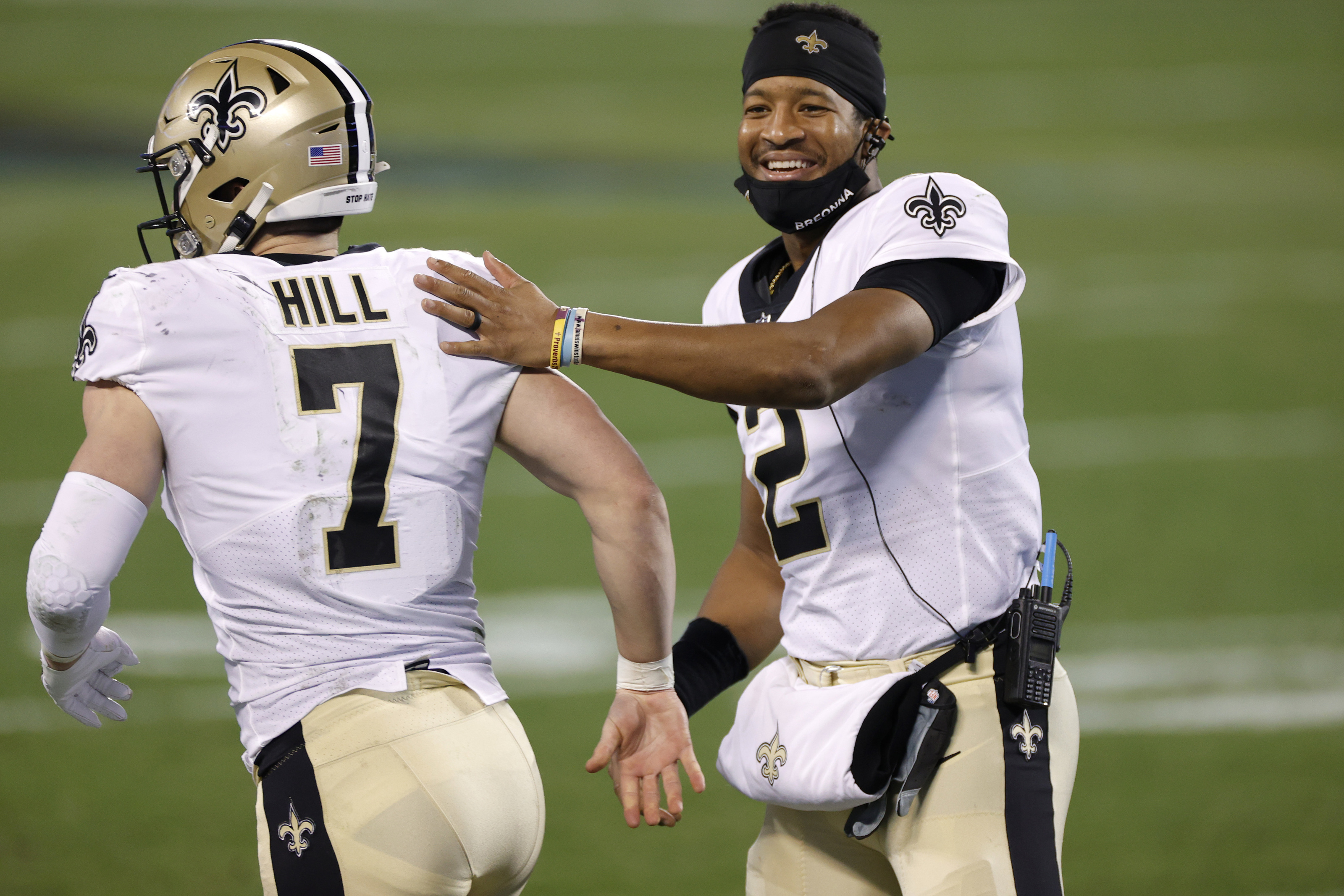 Winston and Hill are vigorously training in Saints QB battle